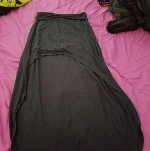 Hi-lo skirt